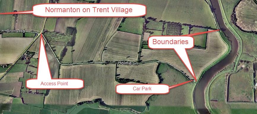 Normanton on Trent Boundaries & Access